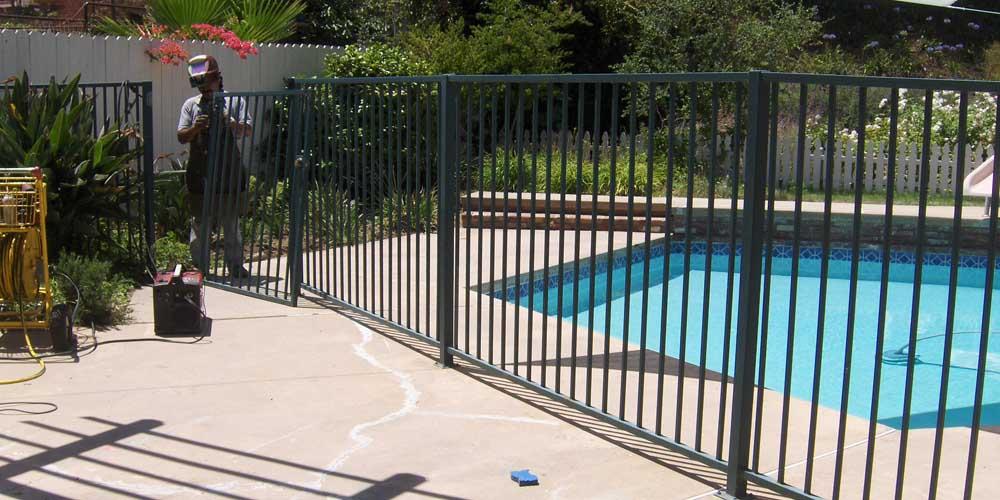 LA Gen Steel Fence 7