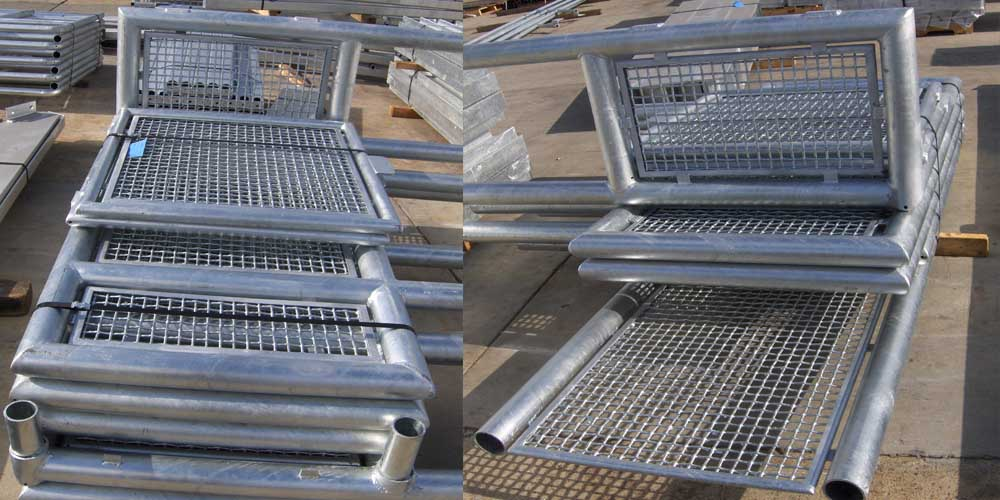 LA Gen Steel Galvanized 12