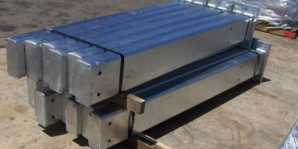 LA Gen Steel Galvanized 6