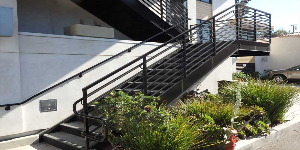 LA Gen Steel Stairs Railings 10a