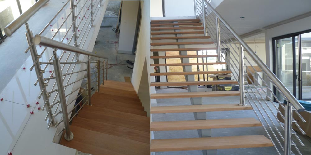 LA Gen Steel Stairs Railings 1a