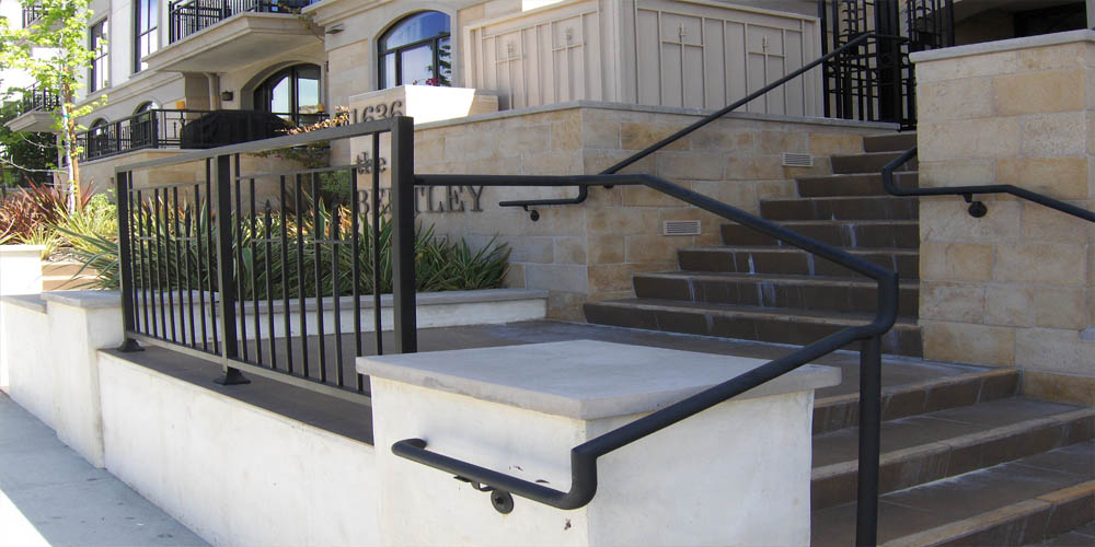 LA Gen Steel Stairs Railings 2