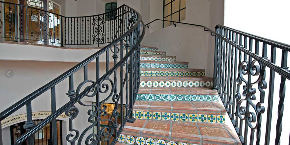 LA Gen Steel Stairs Railings 3a