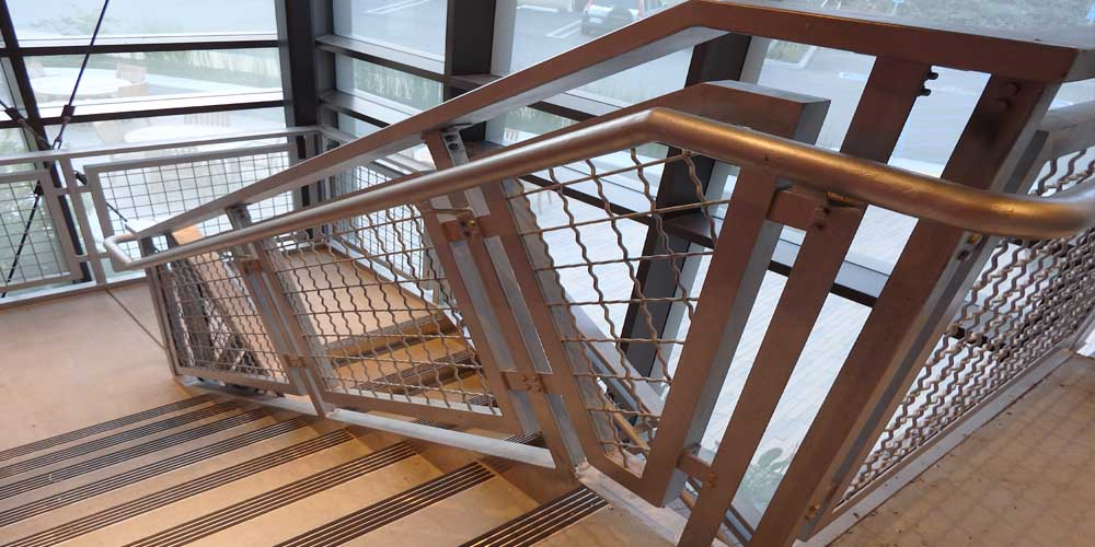 LA Gen Steel Stairs Railings 6a
