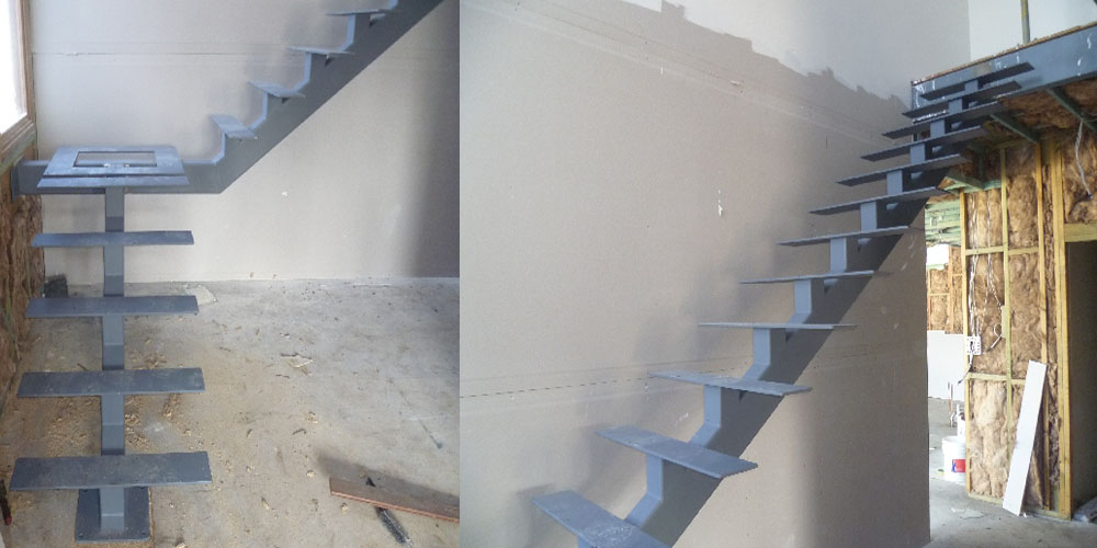 LA Gen Steel Stairs Structure 11a