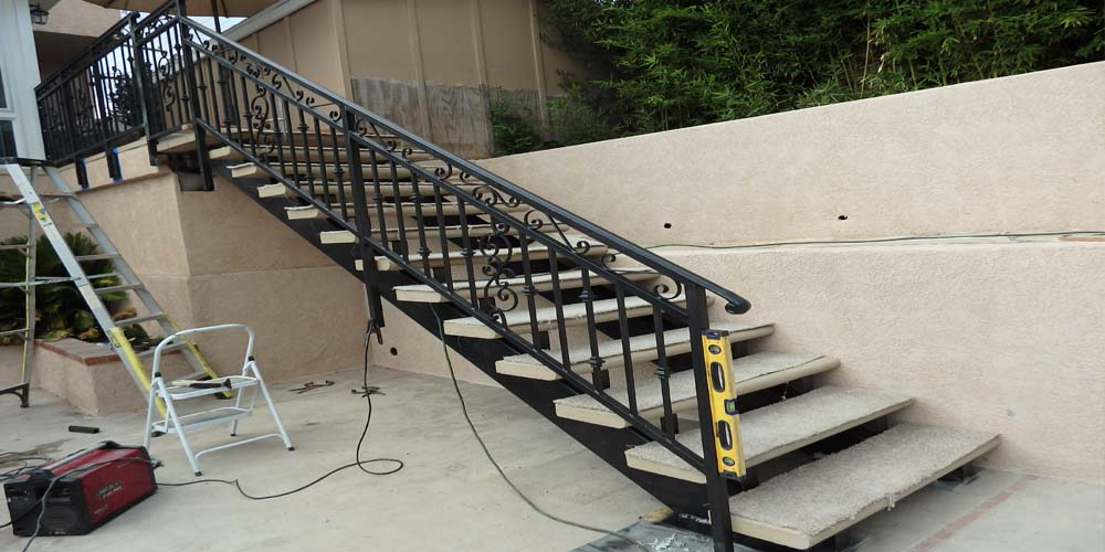 LA Gen Steel Stairs Structure 1a