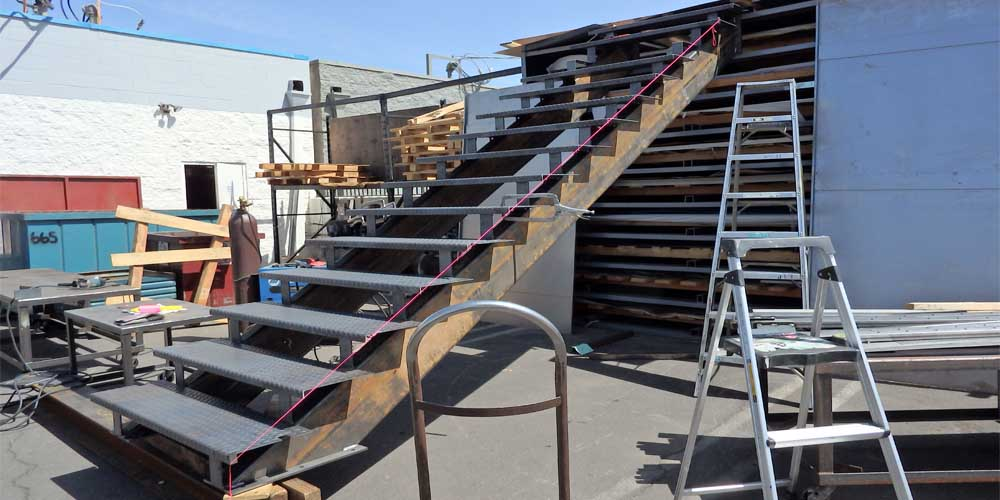 LA Gen Steel Stairs Structure 4