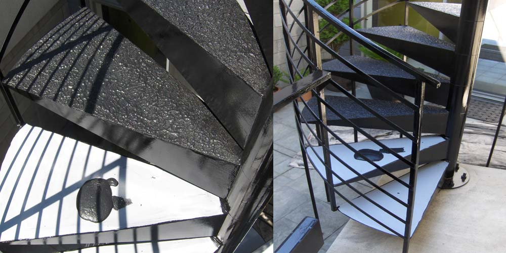 LA Gen Steel Stairs Structure 5d