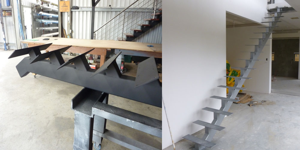 LA Gen Steel Stairs Structure 6a