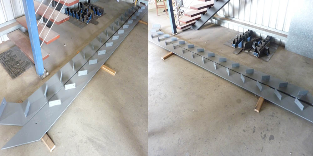 LA Gen Steel Stairs Structure 8a