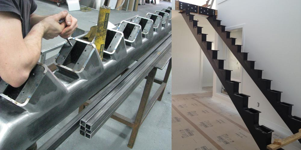 LA Gen Steel Stairs Structure 9